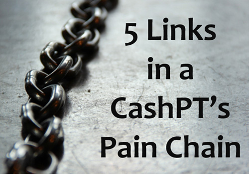 5 Links in a Cash PT's Pain Chain